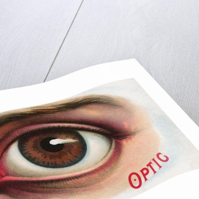 Advertisement for Contact Lenses by Corbis