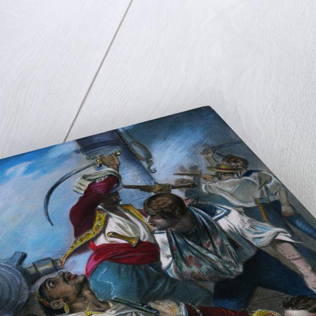Stephen Decatur Fighting Algerian by Corbis
