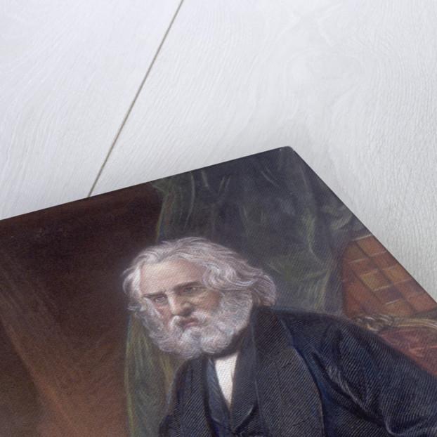 Portrait of Henry Wadsworth Longfellow by Corbis