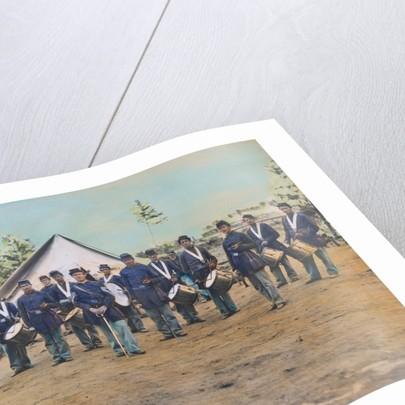 American Troops at Civil War Camp by Corbis