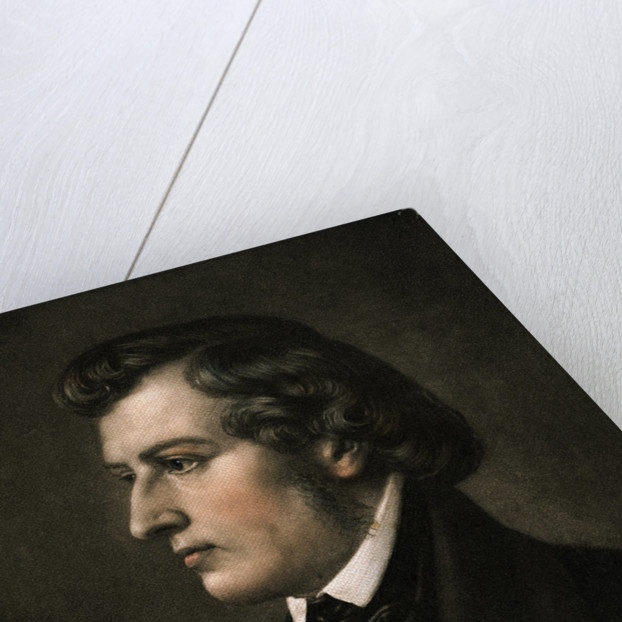 Profile of the Polish Born French Music Composer Chopin by Corbis