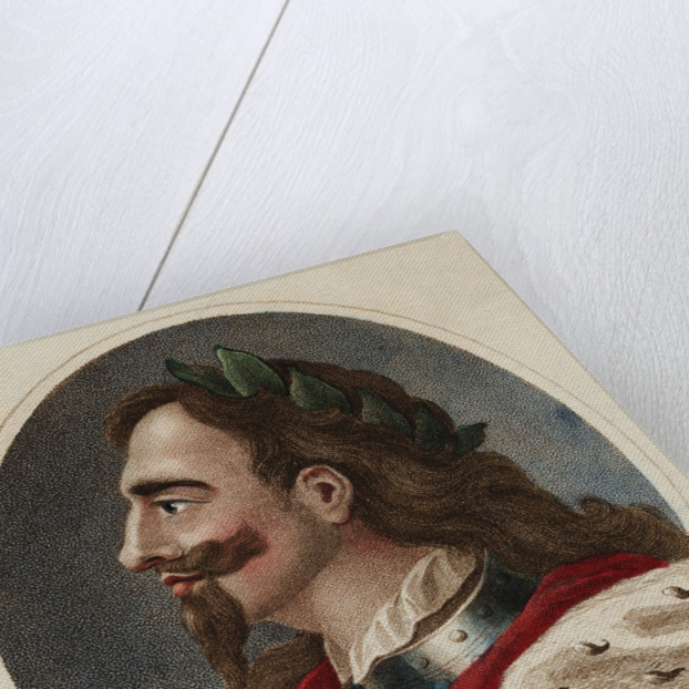 Hand-Colored Print of Charles I of England by Corbis