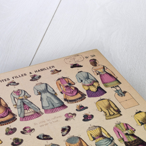 19th-Century French Paper Dolls by Corbis