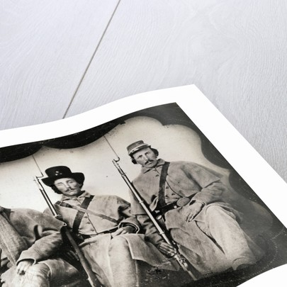 Confederate Soldiers by Corbis