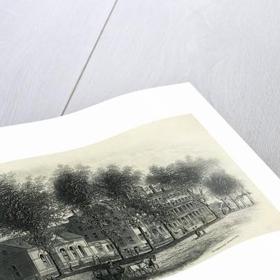 Illustration of Mount Holyoke Seminary by Corbis