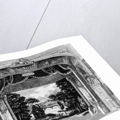 Illustration of Proscenium Arch by Corbis