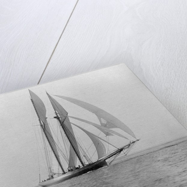 Yacht in the Sea by Corbis