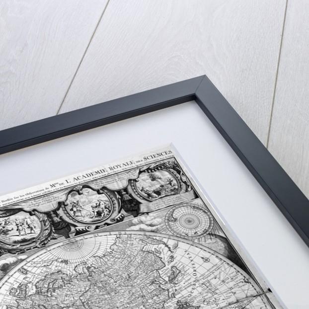 Two Hemisphere World Map by Corbis