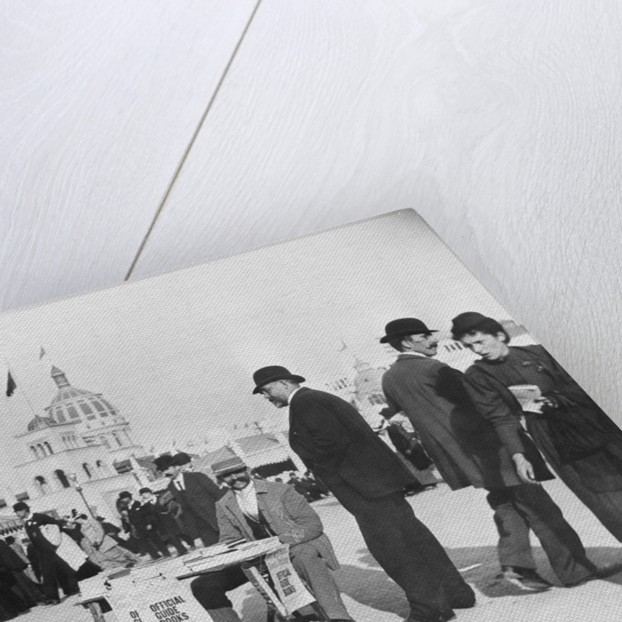 People Gathering at World's Fair by Corbis
