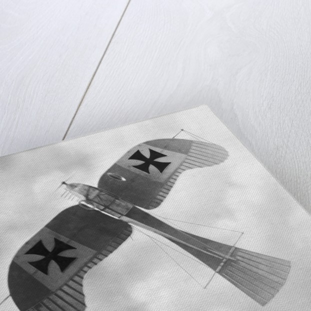 Model of a German Rumpler Taube Aircraft by Corbis