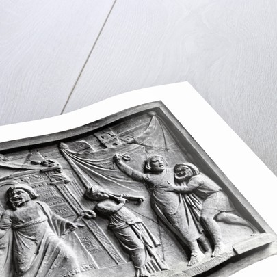 Relief from Pompeii by Corbis