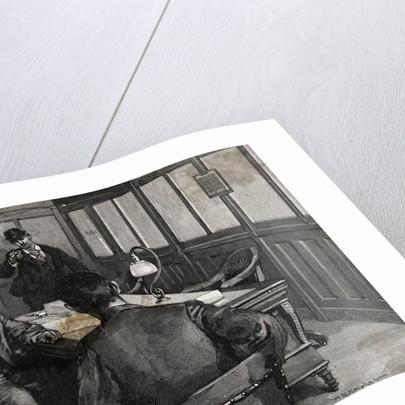 Alexander Berkmann Pointing a Gun at Henry Frick by Corbis