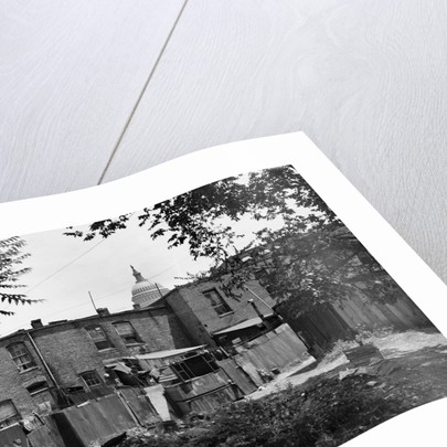 Alley in Washington Slum by Corbis