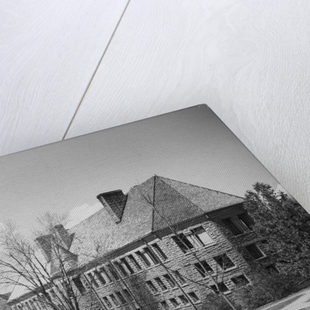 Exterior of Cornell University Buildings by Corbis
