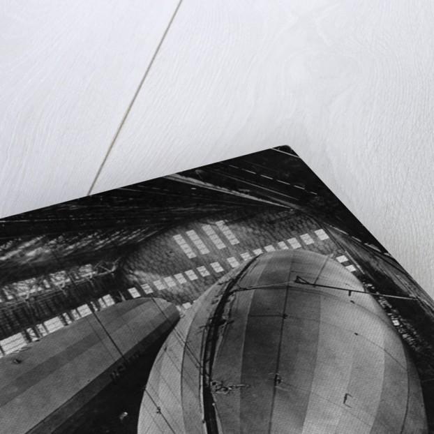 Airship Hangar by Corbis
