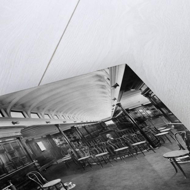 Social Hall on a Streamship by Corbis