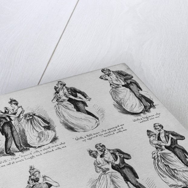 Demonstration of the Waltz Illustration by Corbis