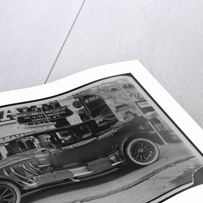 Side View of Mercedes-Benz Automobile by Corbis