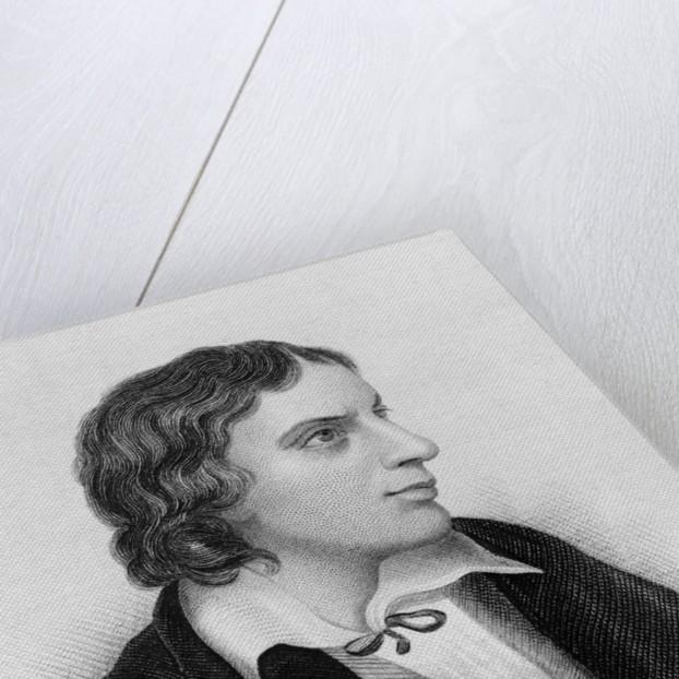Portrait of John Keats by Corbis