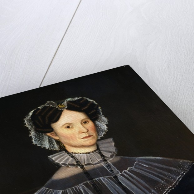 Portrait Painting of a Woman by Corbis