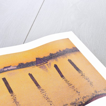Voiliers sur L'Escault by Theo van Rysselberghe
