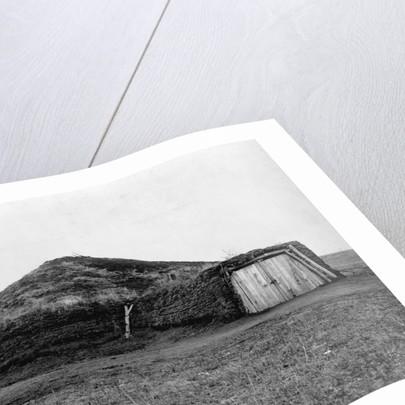 Pawnee Mud Lodge by Corbis
