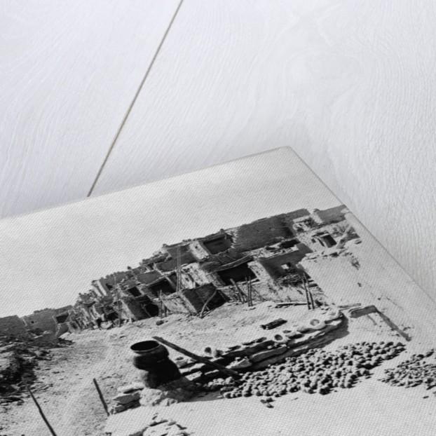 Pueblo Indian Village by Corbis