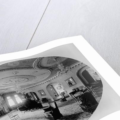 Interior of Ponce de Leon Hotel, (St. Augustine, Florida) c1888 by George Barker