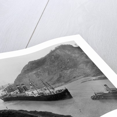 The S.S. Kronland in Panama by Corbis