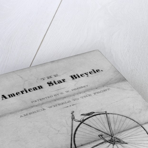 """Advertisement for """"The American Star Bicycle"""" by Corbis"""