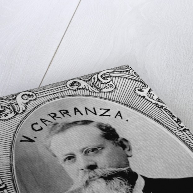 Carranza President of Mexican Republic by Corbis