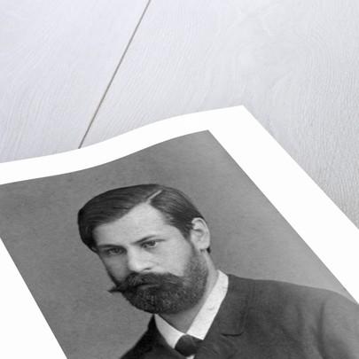 Head and Shoulders Portrait of Sigmund Freud by Corbis