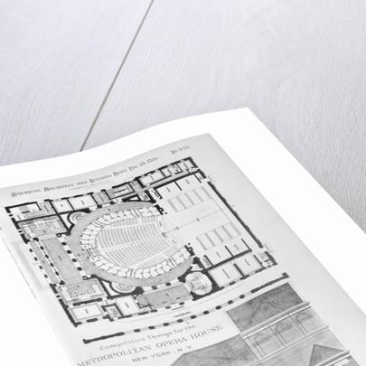 Competitive Design,Metropolitan Opera House,New York,NY Photo