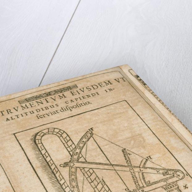 Tychonis Brahe Astronomiae instauratae mechanica. Nurenberg by Corbis