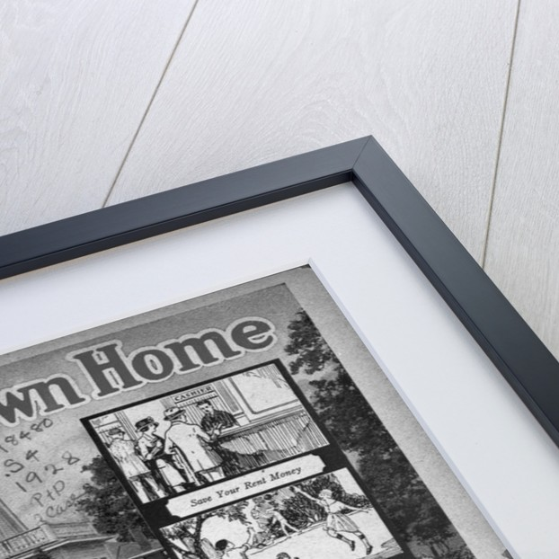 """Print """"Own Your Own Home"""" by Corbis"""