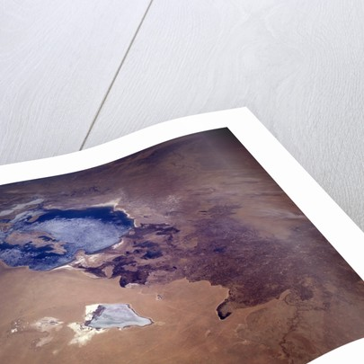 Aral Sea, Kazakhstan and Uzbekistan by Corbis