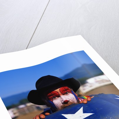 Rodeo Clown by Corbis