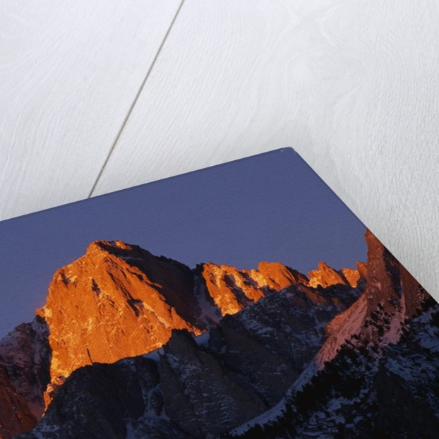 Morning Light on Mount Whitney by Corbis