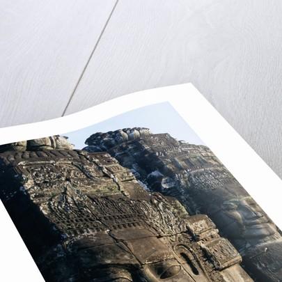 Avalokiteshvara Carving at Angkor Wat by Corbis