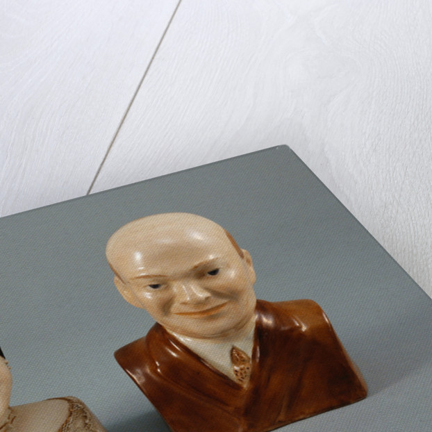 President and Mrs. Eisenhower Salt and Pepper Shakers by Corbis