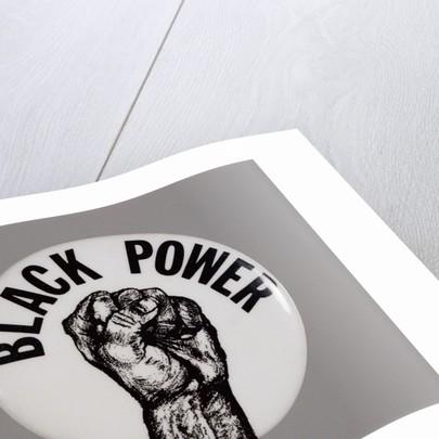 Black Power Button by Corbis