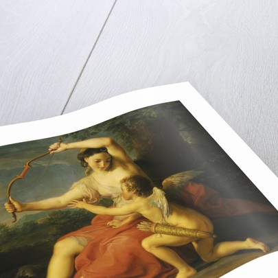 Diana Breaking Cupid's Bow by Pompeo Girolamo Batoni