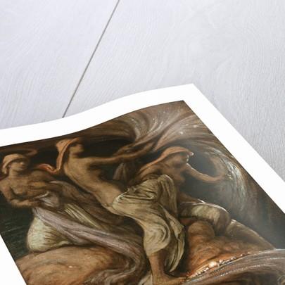 THE FATES GATHERING STARS GREEK MYTH ELIHU VEDDER PAINTING ART REAL CANVAS PRINT