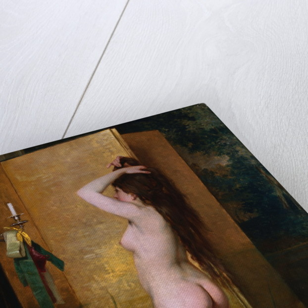 A Standing Nude by Frans Verhas