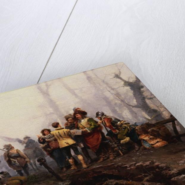 The Encampment by Cesare Auguste Detti