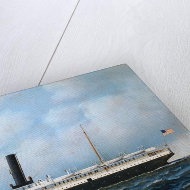 Steamer by Antonio Jacobsen