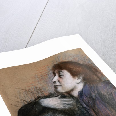 Bust of Woman by Edgar Degas
