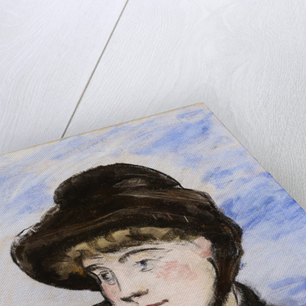 Girl with a Maroon Cap by Edouard Manet