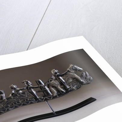 An Important Haida Argillite Ship Pipe by Corbis