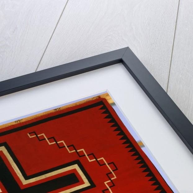 A Navajo Germantown Rug by Corbis